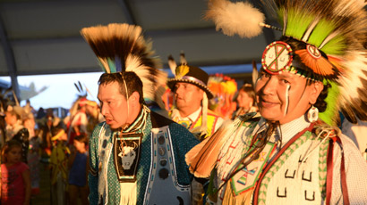 First Nations pow wow