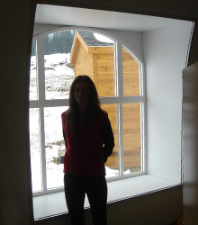 Sprung Window Elliptical from the interior