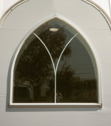 Sprung Building Gothic Window