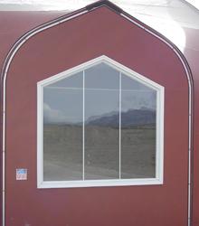 Sprung Structure Rake Window