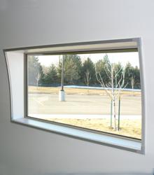 Sprung Building Rectangle Window