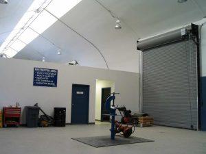 Rolling Service Door modular construction