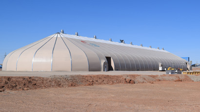 Sprung structure in Mongolia - modular structure