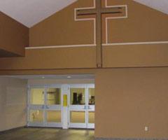 church fabric building