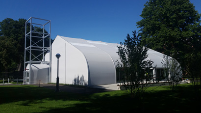 Dartmouth tensile structure - fabric structure