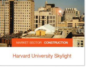 Harvard University Skylight replacement Sprung Structures