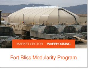 Fort Bliss Modularity Program for the Military Sprung Tents