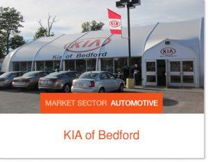 Kia of Bedford Kia Interim Dealership Sprung Building