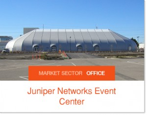Juniper Networks Envent Center - Sprung Structure