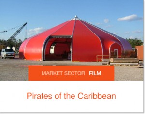 Sprung Warehousing for Pirates of the Caribbean