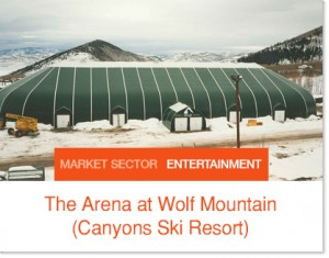 Arena at Wolf Mountain - Sprung Structure