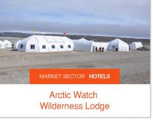 Arctic Watch Sprung furthest northern hotel