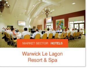 Warwick Le Lagon Resort and Spa conference faciltiy