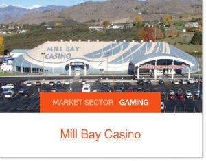 Mill Bay Casino Sprung Tent