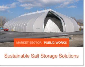 Sastainable Salt StorageSolutions Sprung buildings