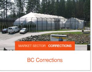 BC Corrections Sprung Tent