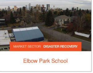 Elbow Park School after flood added a new gymnasium