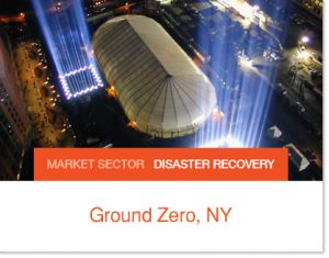 911 Ground Zero Sprung Taj Mahal Recovery efforts in a Sprung Structure