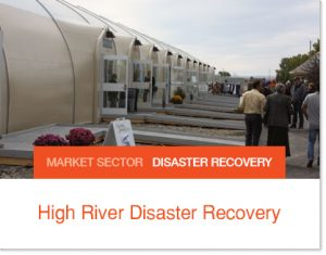 High Rive Shopping Mall after flood Sprung Structure