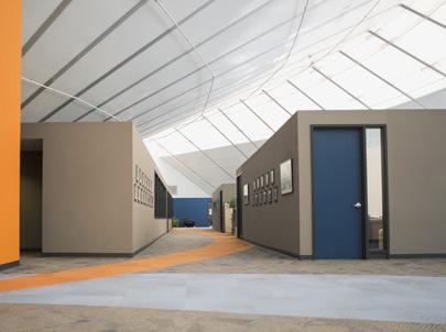 Sprung Commercial Buildings - modular construction