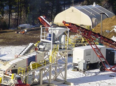 Sprung Industrial Buildings mining