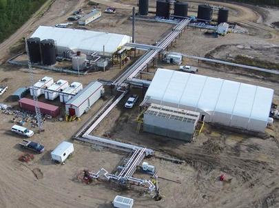Sprung Industrial Buildings Oil and Gas Buildings