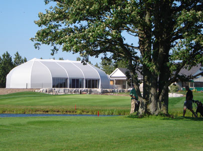 Sprung Sports Fabric Buildings - banquet facility