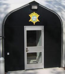 Sprung Personnel Door Options Single Glass Door