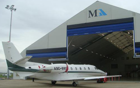 Marshall Aerospace - Sprung tensioned membrane structure