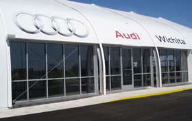 Audi Sprung Dealership Temporary