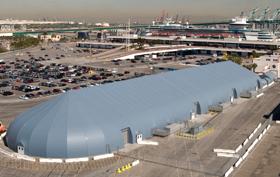 Sprung Fabric Buildings - Port LA