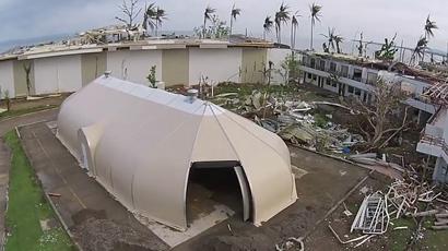 Samaritans Purse Sprung building