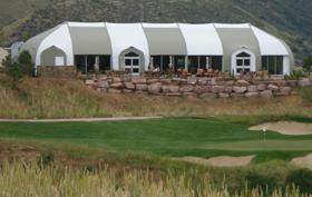 Golf Club at Ravanna Sprung structure