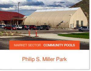 Sprung Pool Enclosure at Philip S Miller Park