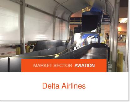 Delta Conveyor Belt Cover - Sprung Solutions