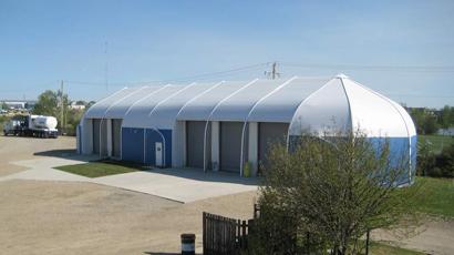 Schlumberger Alberta Training Center - Sprung Structure