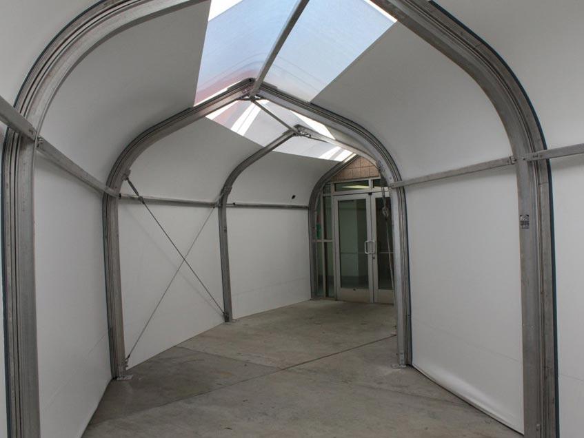Sprung Connecting Corridors - modular building