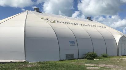 Samaritans Purse warehouse - fabric building