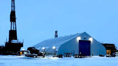 Doyon Drilling Climate Controlled Warehouse Sprung Structure