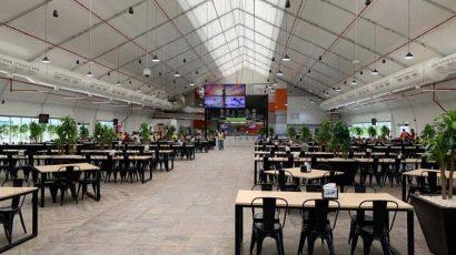 Large lunchroom prefab building