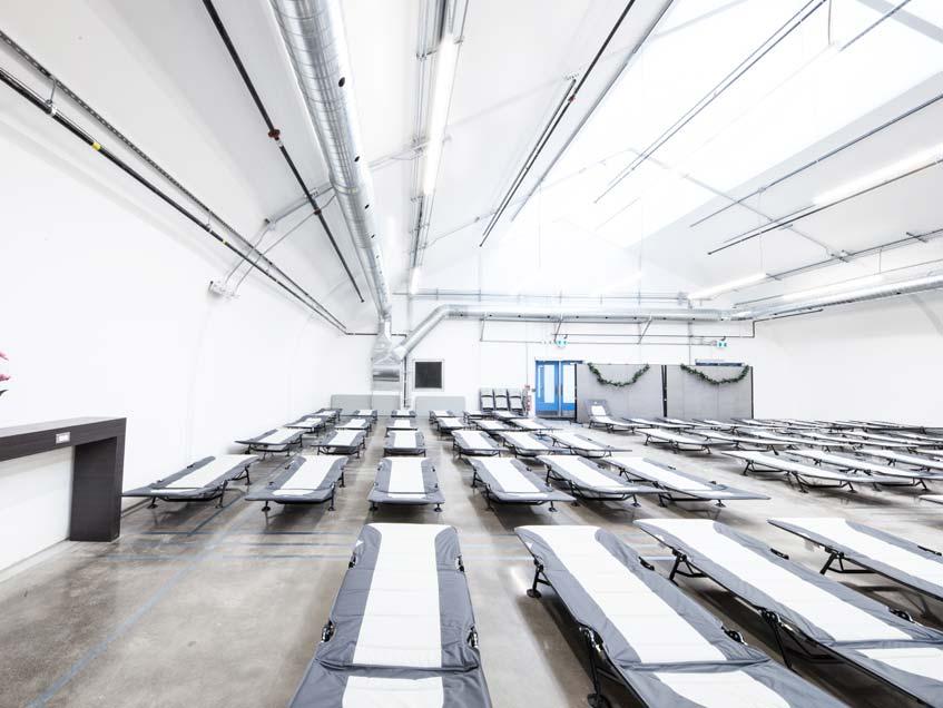 Toronto Respite Center - Temporary Building for the homelessness in Toronto