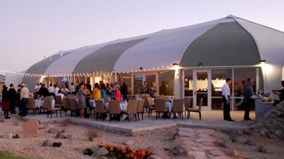 Red Hawk Golf Club Banquet Facility outdoor patio