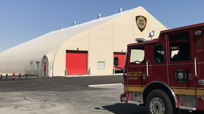 Salt Lake City Logistics Equipent Storage and Office Space - Fire Department exterior