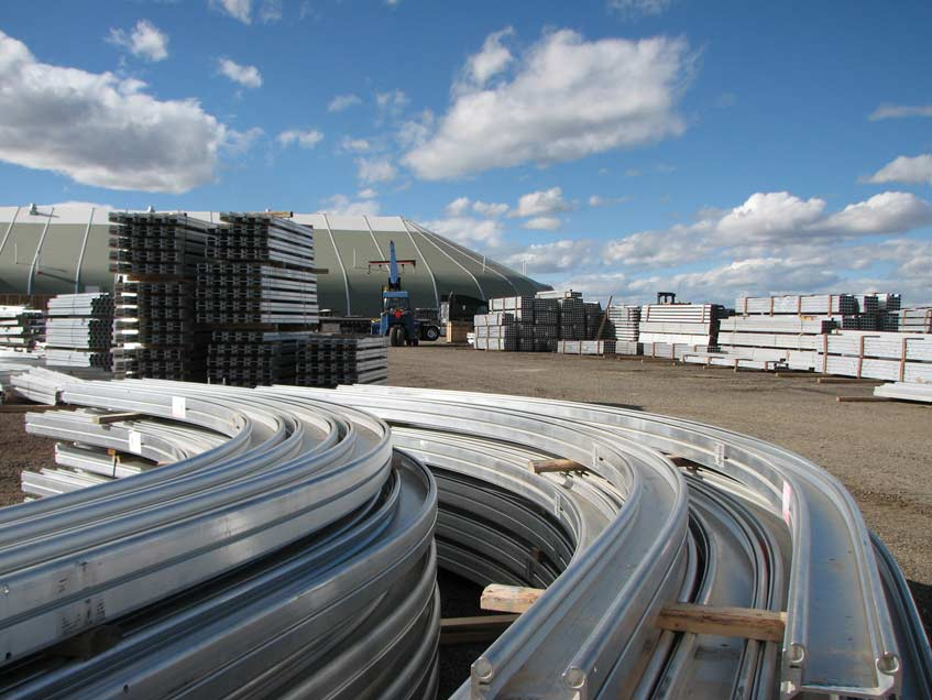 Sprung Structures Fabric Structures inventory available immediately