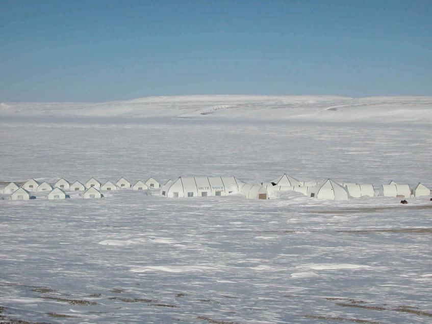 Arctic Watch Sprung Structures