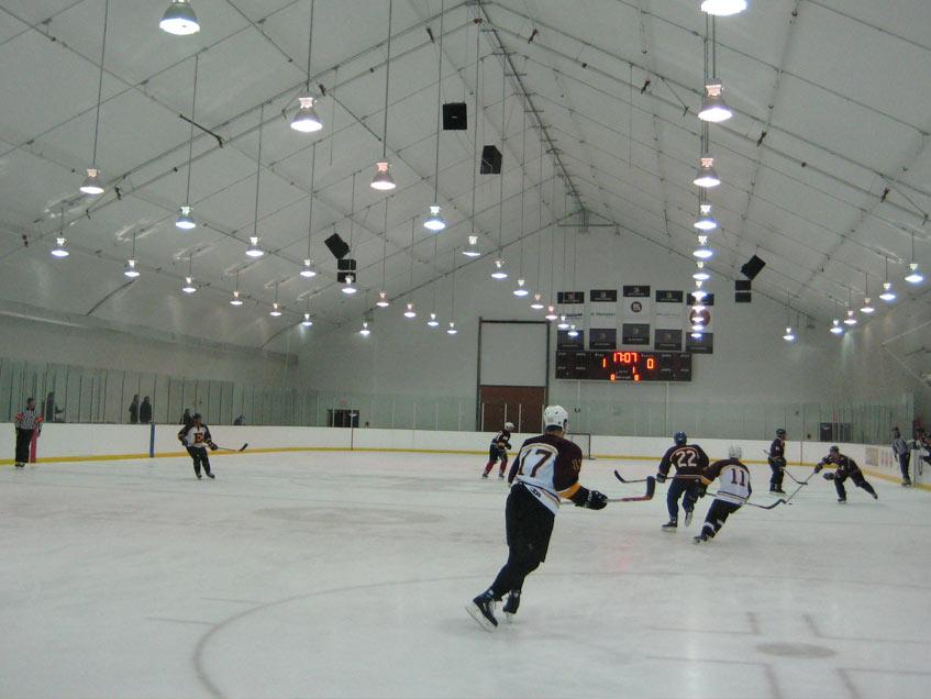 Edge School ice arena one of two