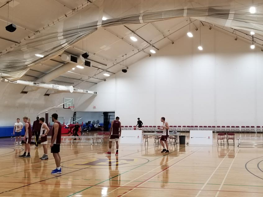 Edge School gymnasium