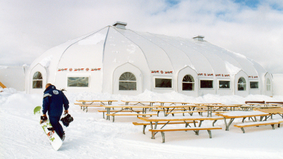 Ski resort Sprung building modular structure