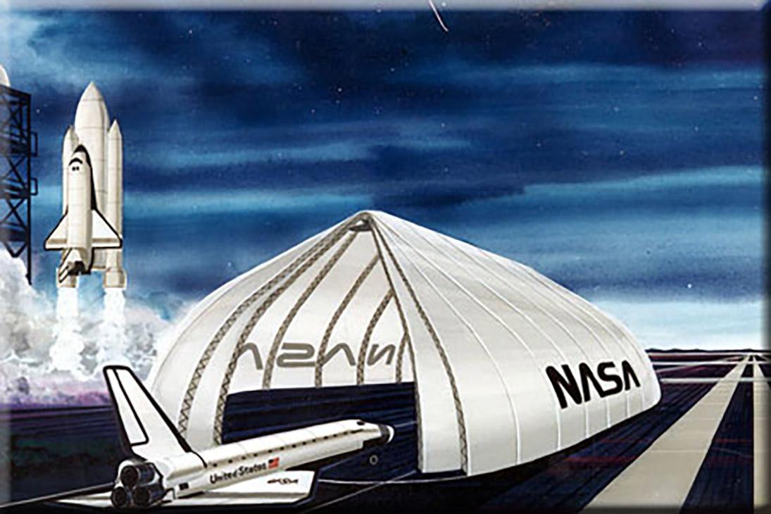 مغلف حماية القمر الصناعي بوكالة ناسا